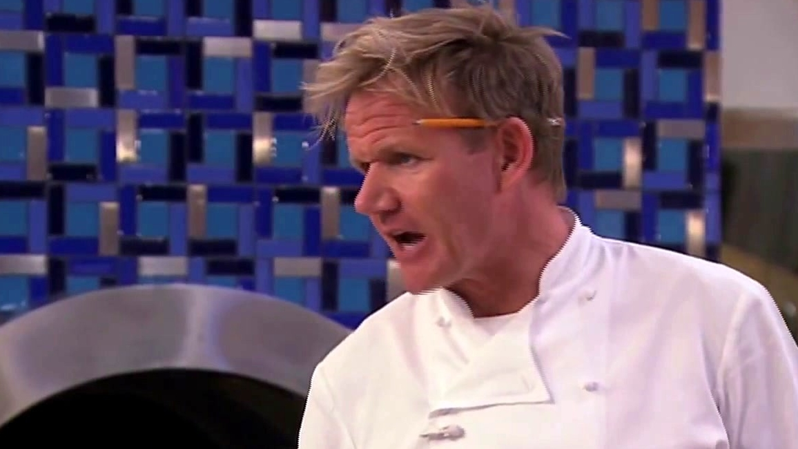 Hell's Kitchen: Roy Is Called Out For His Senior Moments