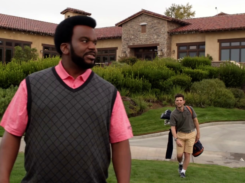 Ghosted: Max & Leroy Hit The Golf Course