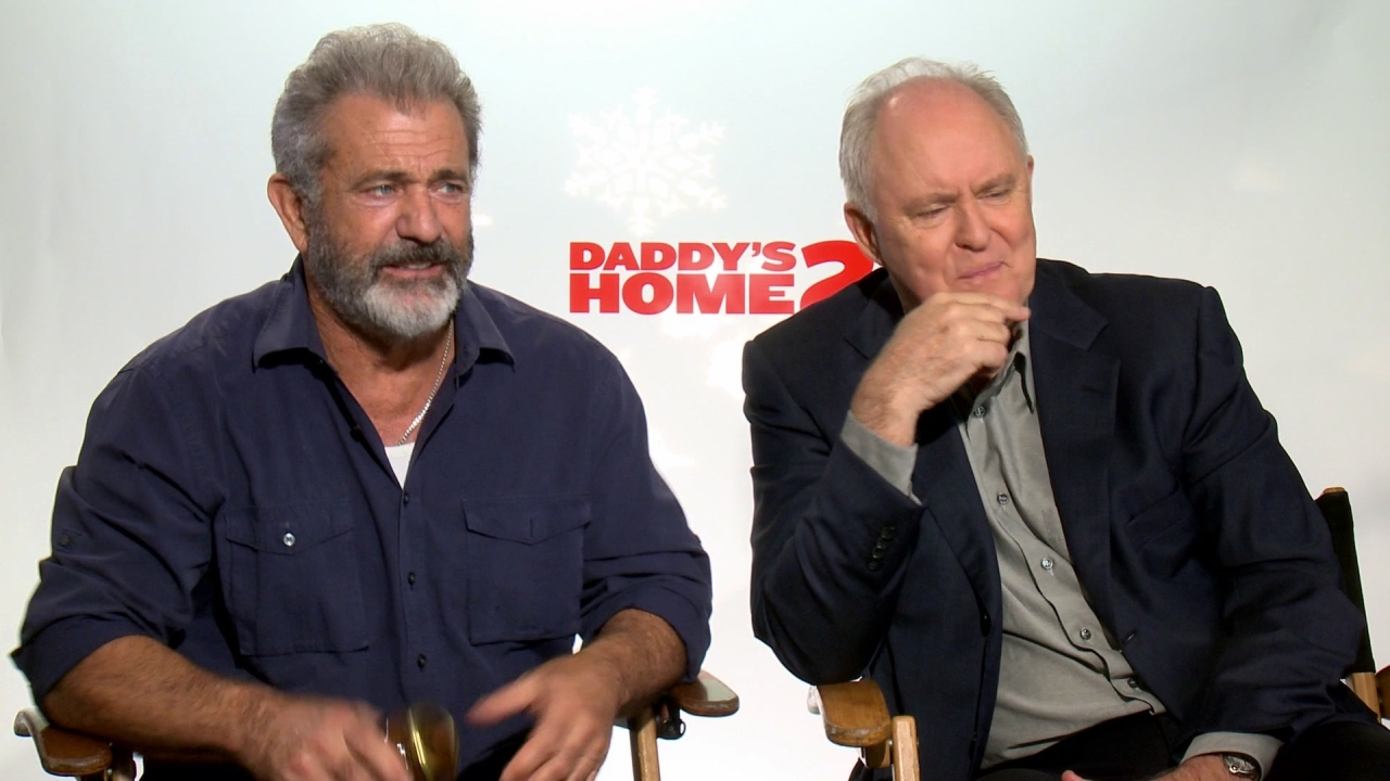 Daddy's Home 2: Mel Gibson & John Lithgow On The Atmosphere On The Set