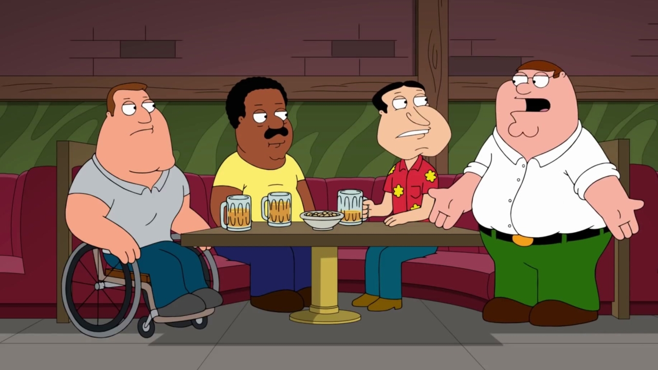 Family Guy: Peter Gets Kicked Out For Defending Brian