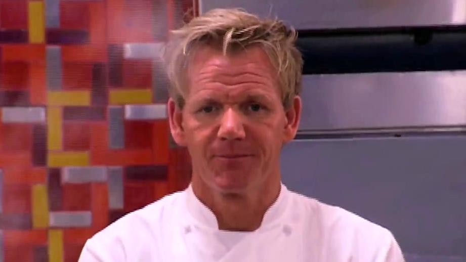 Hell's Kitchen: Mary Plates Raw Lamb