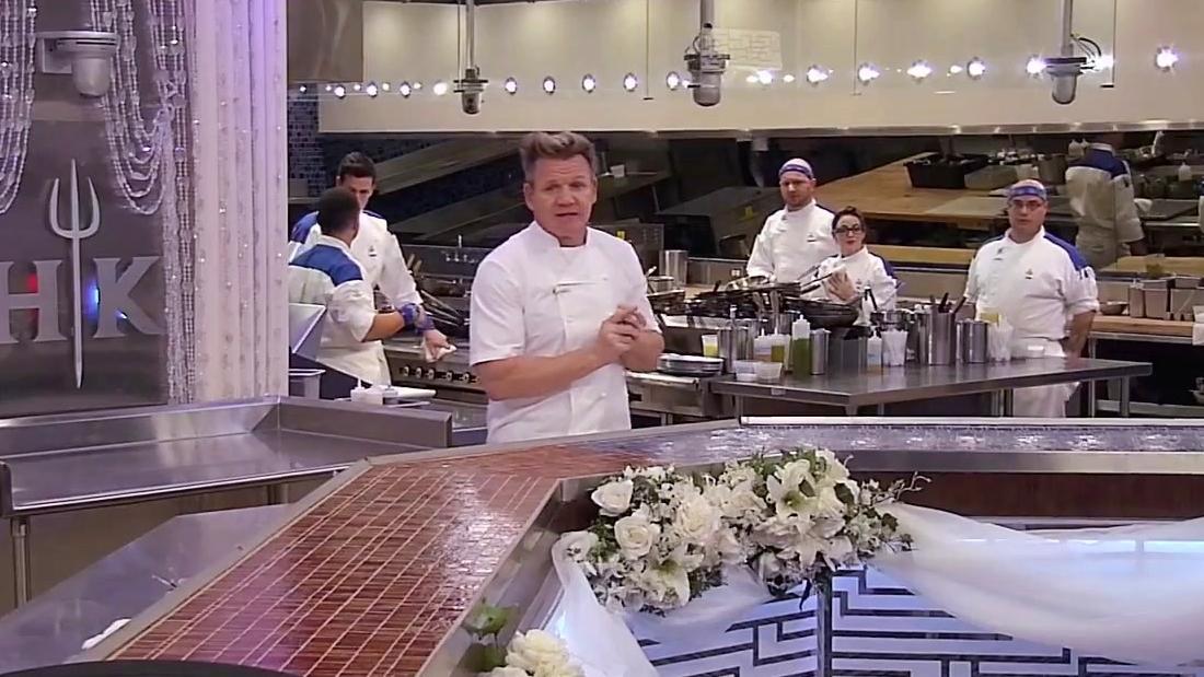 Hell's Kitchen: The Chefs Work Chef Andi's Wedding