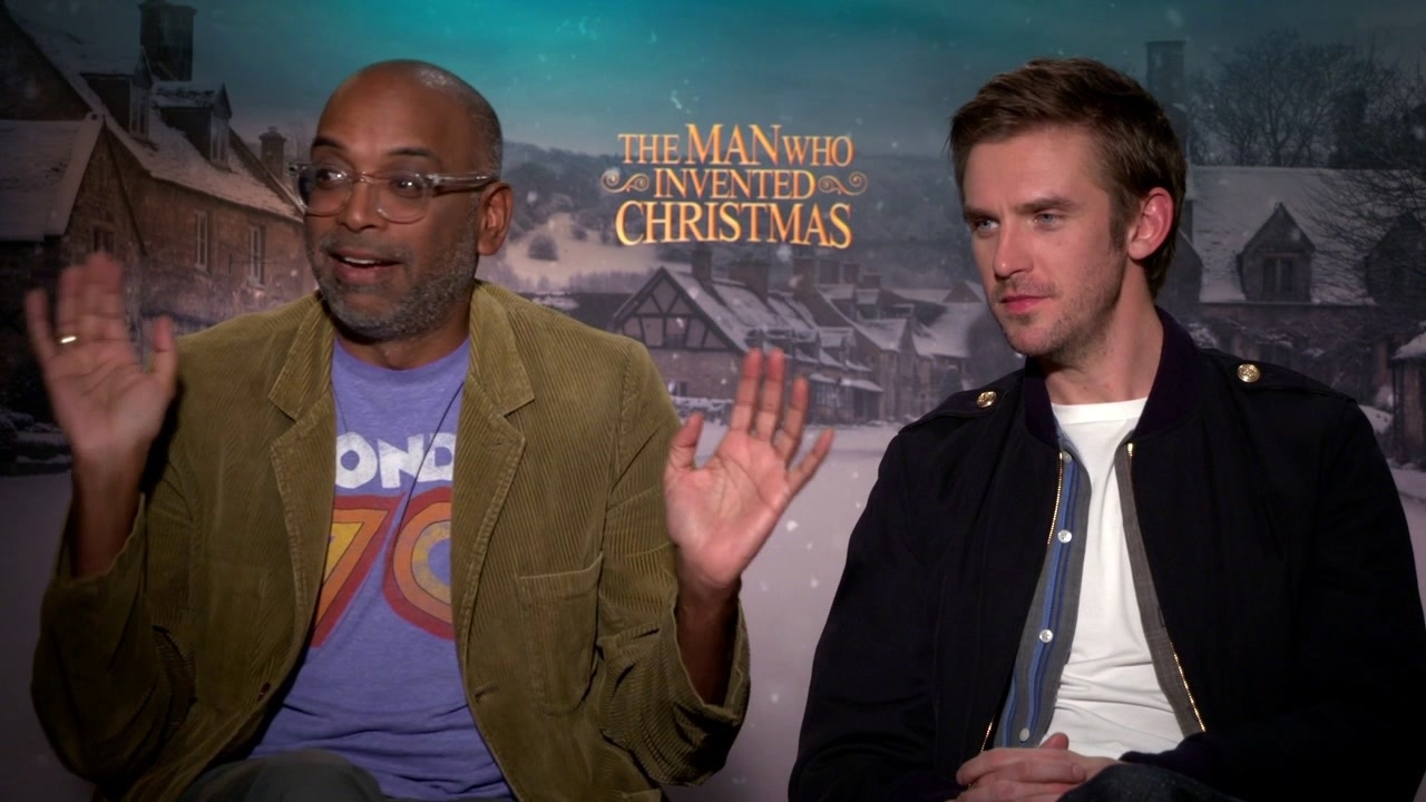 The Man Who Invented Christmas: Bharat Nalluri & Dan Stevens On How To Best Describe The Film