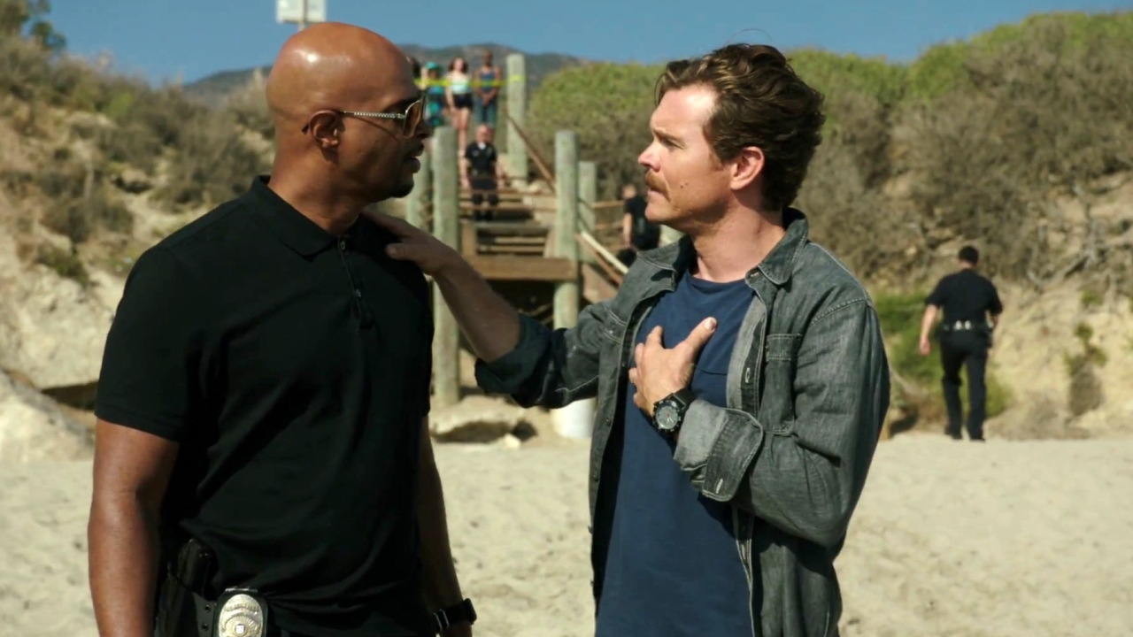 Lethal Weapon: Roger & Martin Meet Scorsese At A Crime Scene
