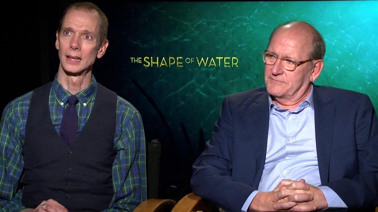 The Shape Of Water: Doug Jones And Richard Jenkins On The Film's Love Story