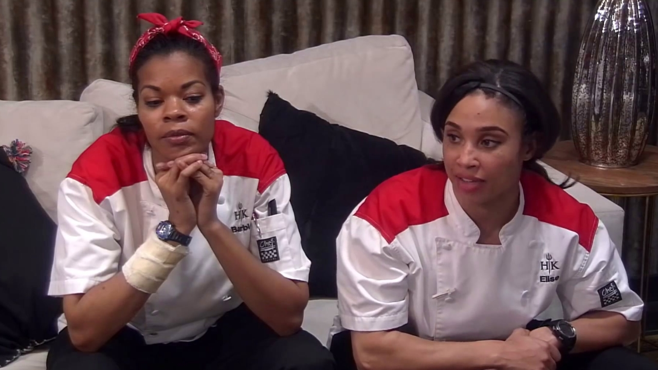 Hell's Kitchen: Elise Stops Playing Nice & Argues With Michelle