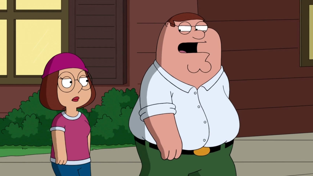 Family Guy: Peter Shows Meg Where He Was When She Was Born