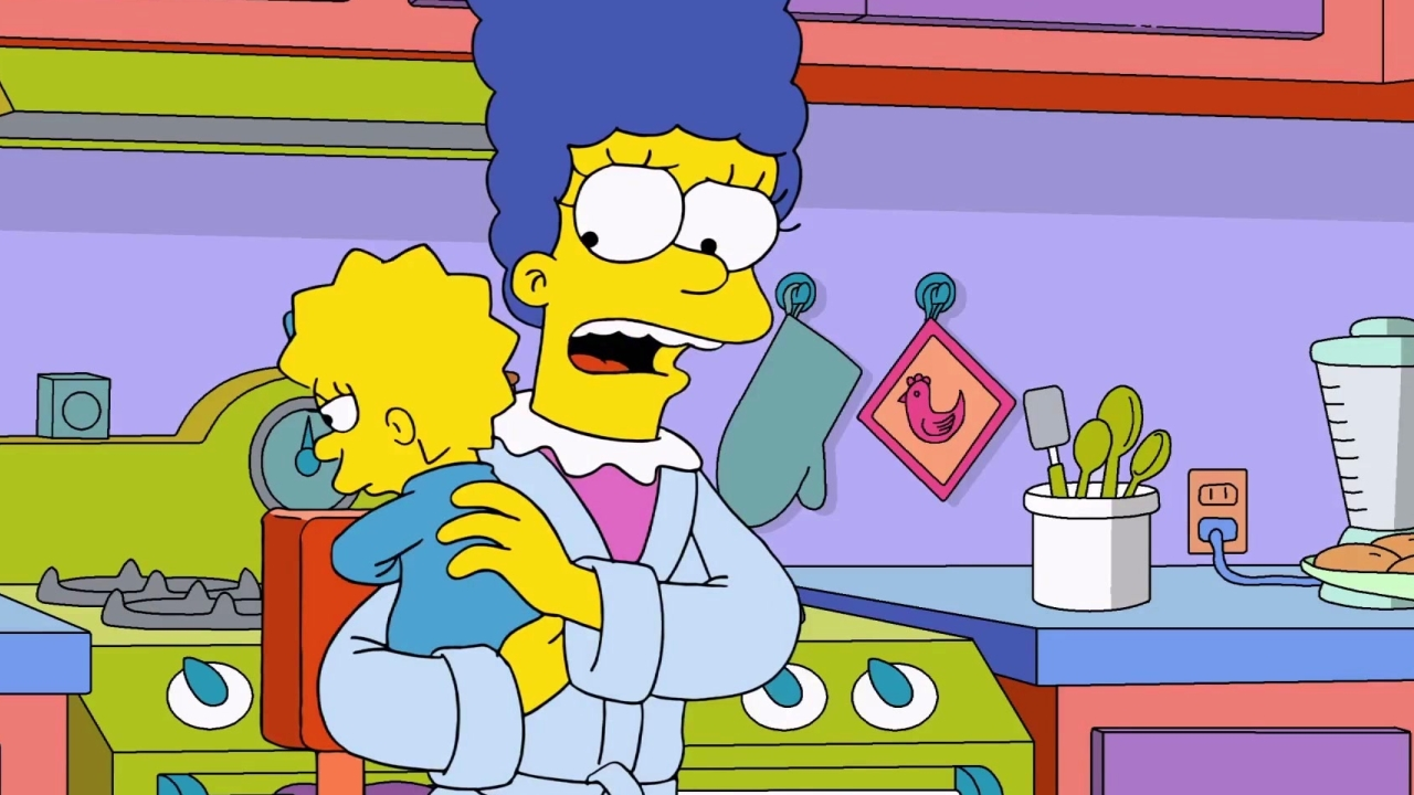 The Simpsons: Marge Gives Maggie Her First Addiction