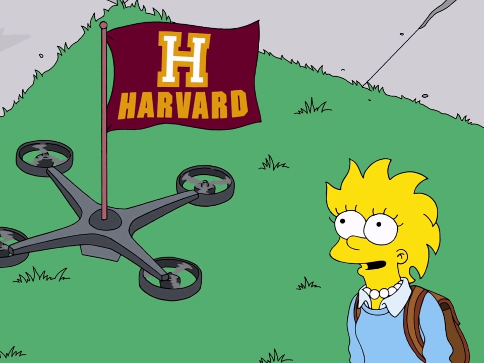 The Simpsons: Lisa Accepts To Go To Harvard