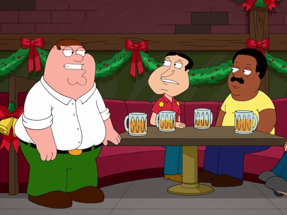 Family Guy: Christmas Carolers Make Their Way Into The Bar