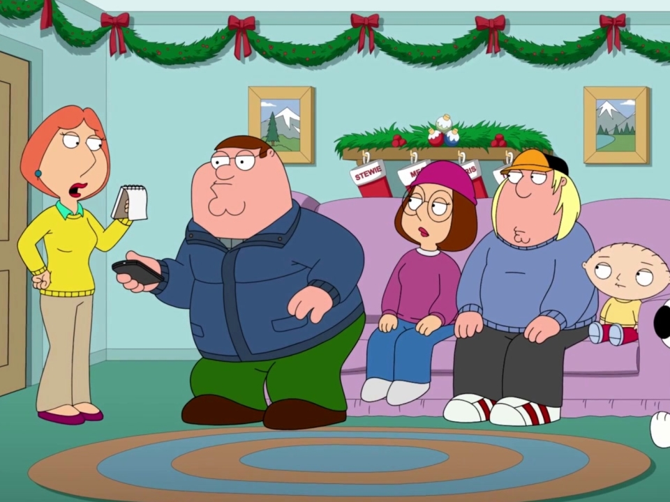 Family Guy: Lois Reads Off Her To-Do List
