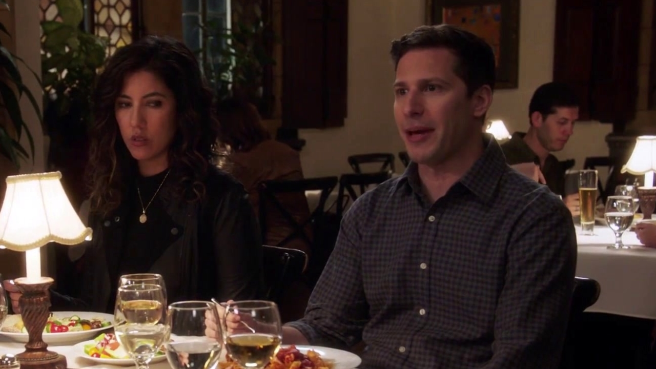 Brooklyn Nine-Nine: Jake & Rosa Go To Dinner With Rosa's Parents