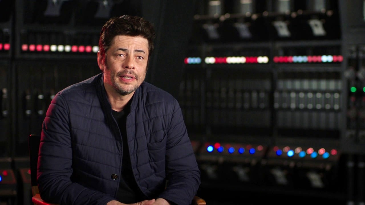 Star Wars: The Last Jedi: Benicio Del Toro On DJ And What He Believes In