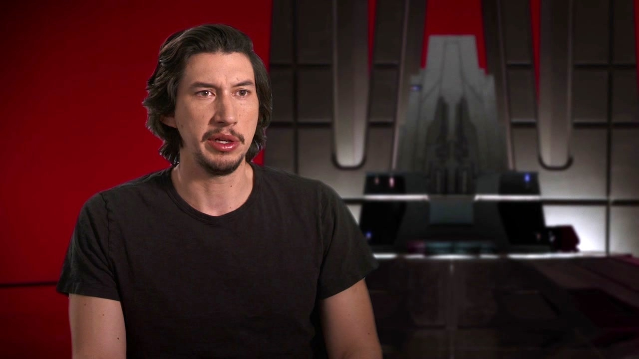Star Wars: The Last Jedi: Adam Driver On Kylo Ren's Youthfulness And Growth