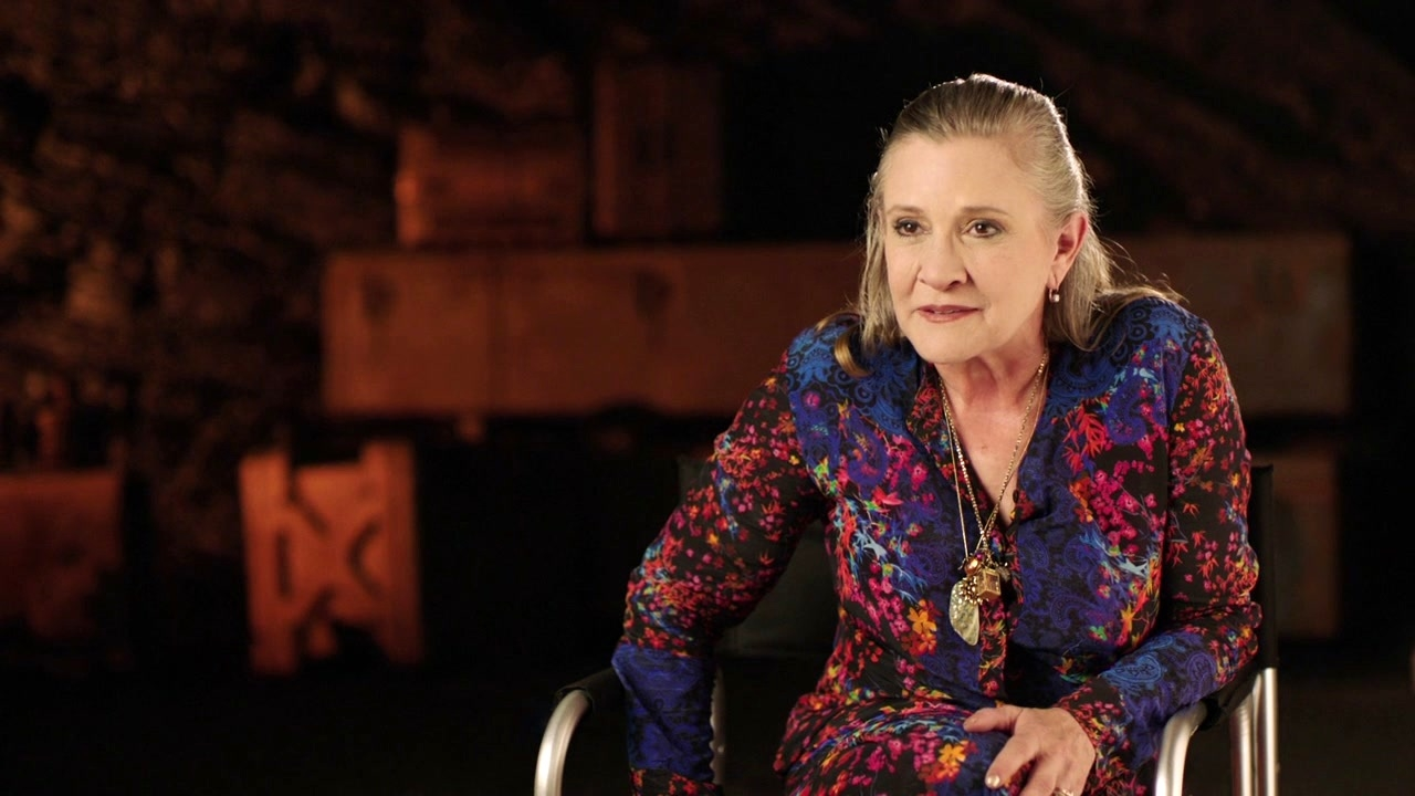 Star Wars: The Last Jedi: Carrie Fisher On Leia's Relationship With Poe