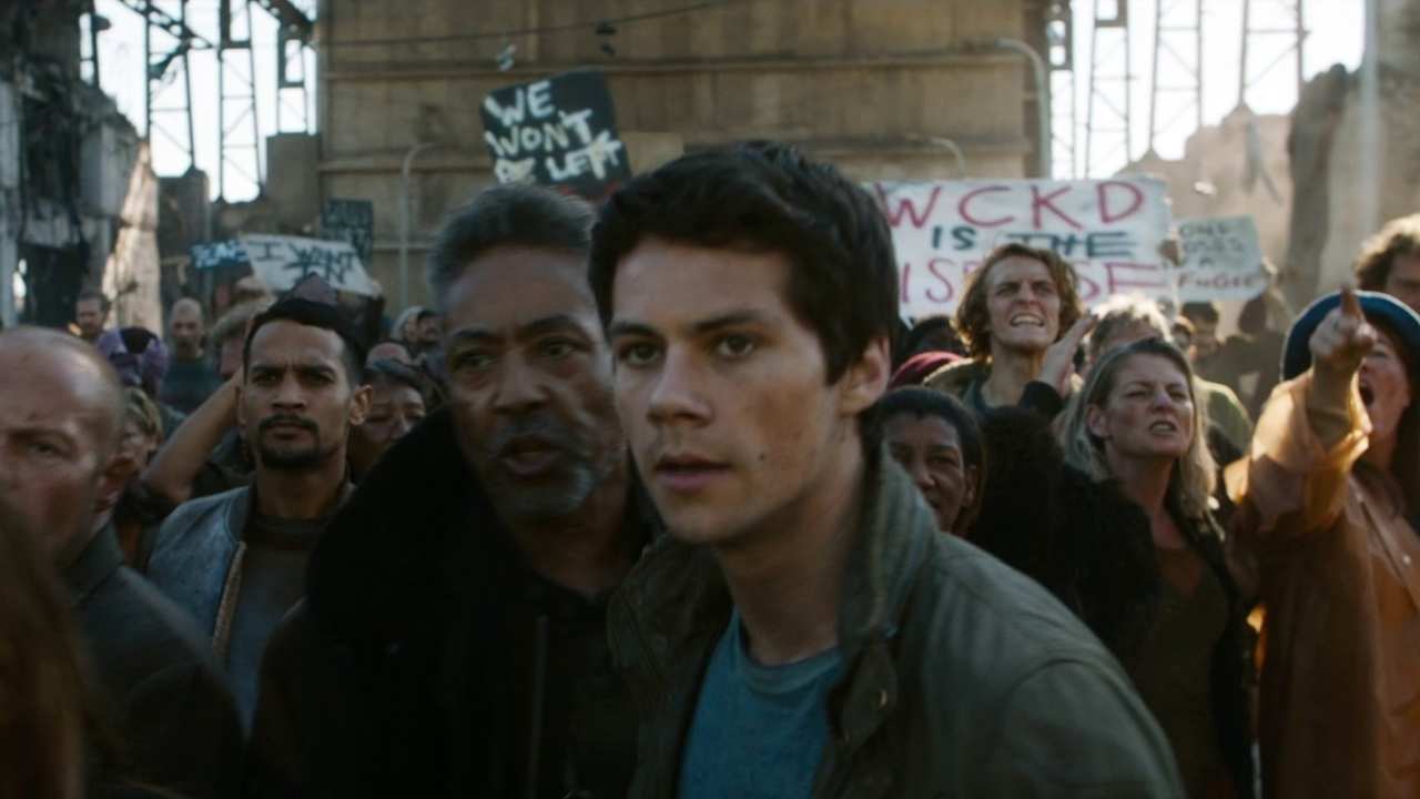 Maze Runner: The Death Cure: The Wall Extended