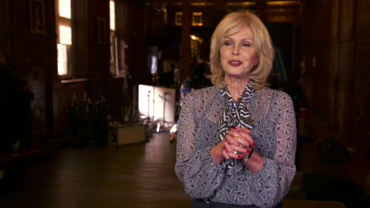 Paddington 2: Joanna Lumley On Phoenix Buchanan And Playing His Agent