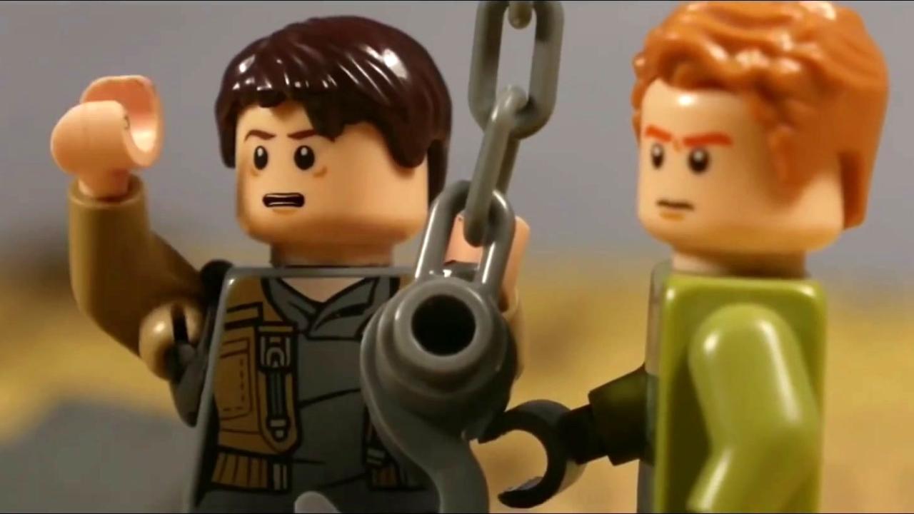 Maze Runner: The Death Cure (Lego Trailer)