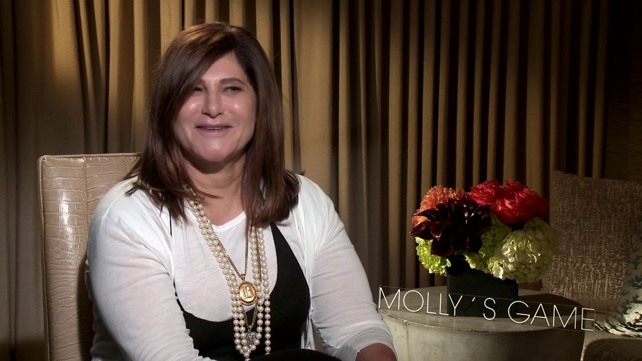 Molly's Game: Amy Pascal On Jessica Chastain As Molly Bloom