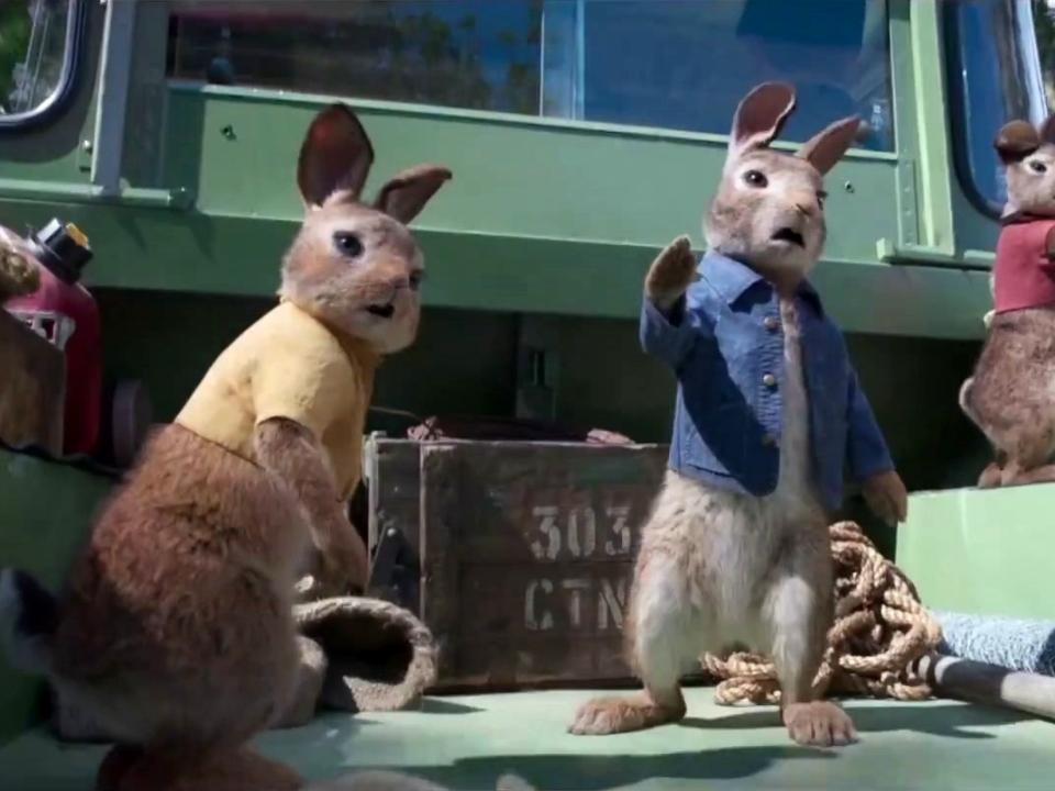 Peter Rabbit: Wet Willy