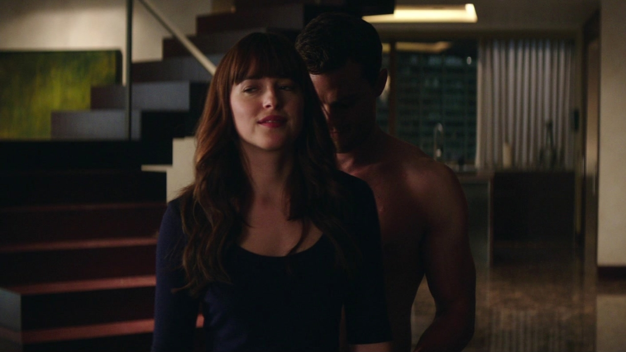 Fifty Shades Freed: Christian Surprises Ana When She Gets Home