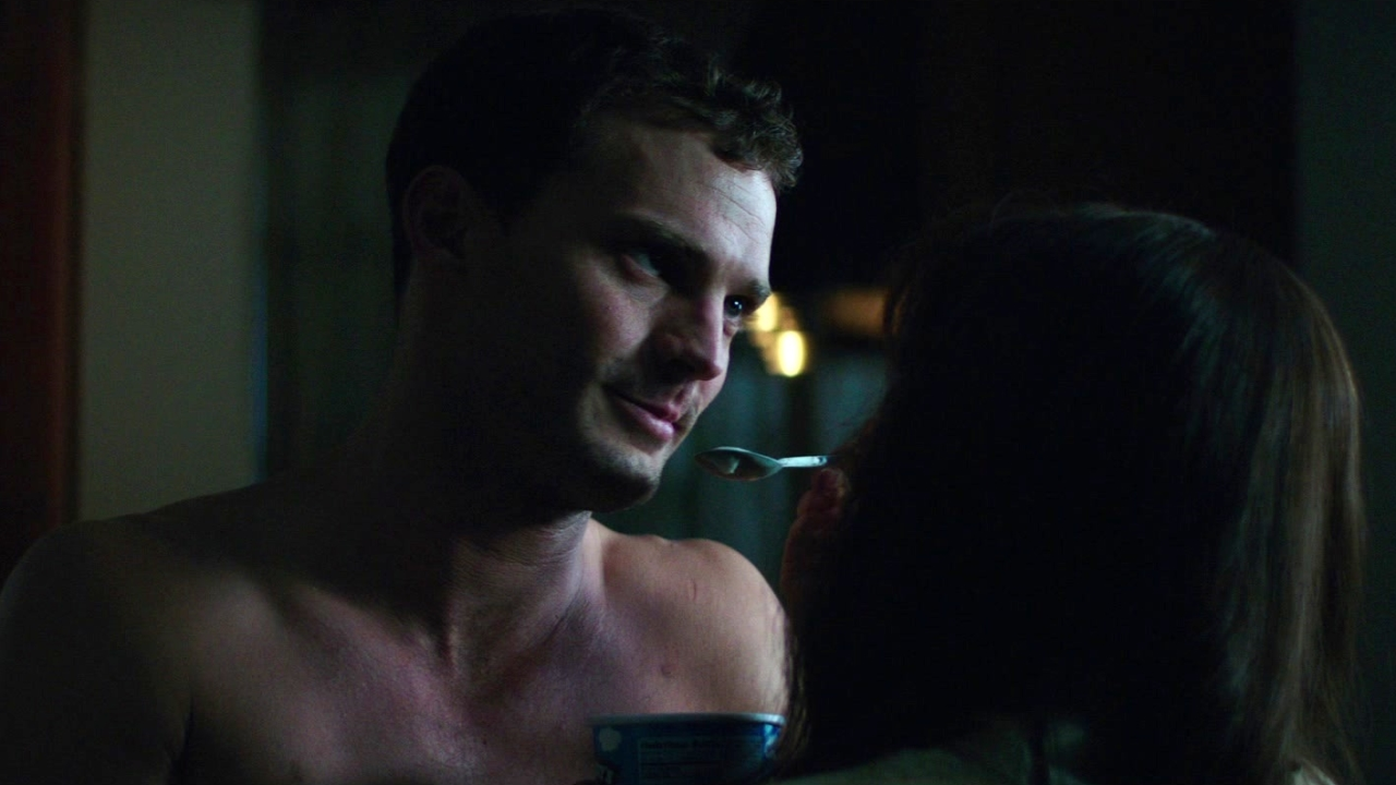 Fifty Shades Freed: Ana Surprises Christian In The Kitchen