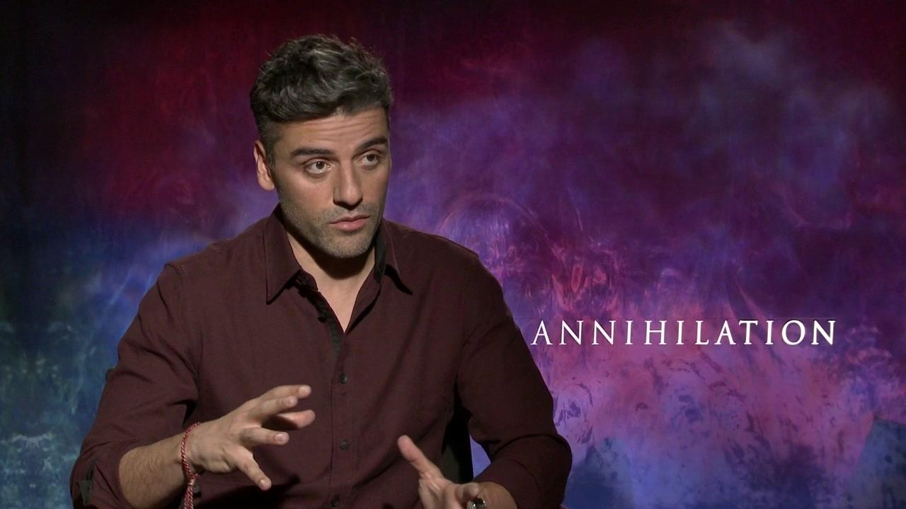 Annihilation: Oscar Isaac On His Role