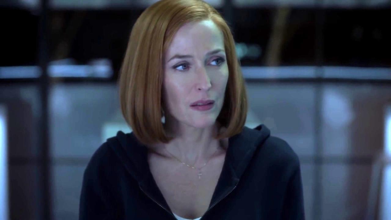 The X-Files: Mulder Gets A Weird Fish