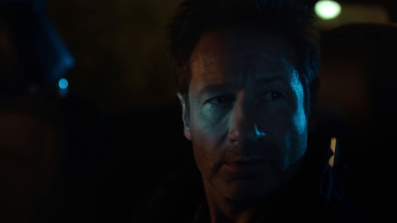 The X-Files: Mulder Arrives At His Destination