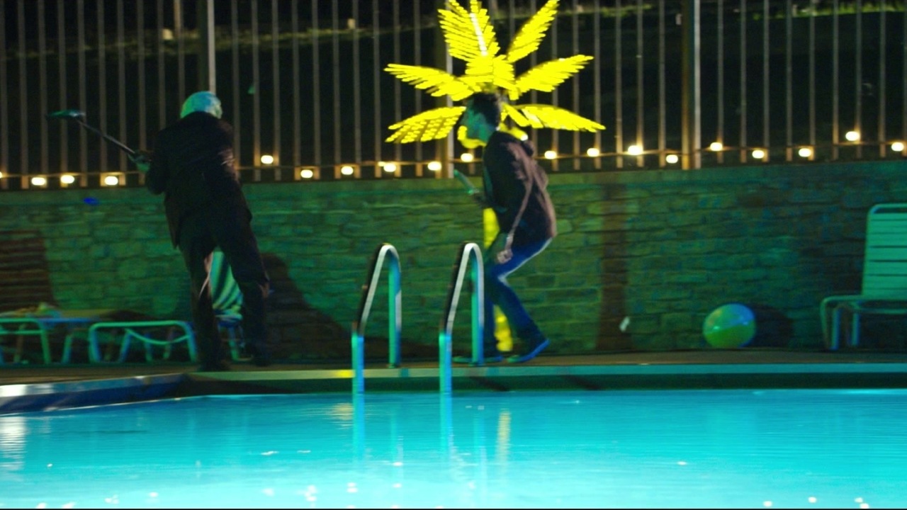 The Strangers: Prey At Night: Pool Fight