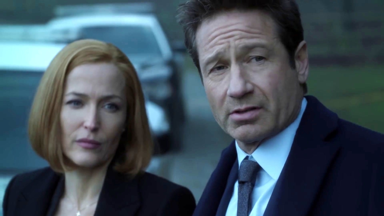 The X-Files: Mulder & Scully Investigate The Playground