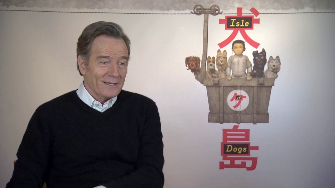 Isle Of Dogs: Bryan Cranston On Recording