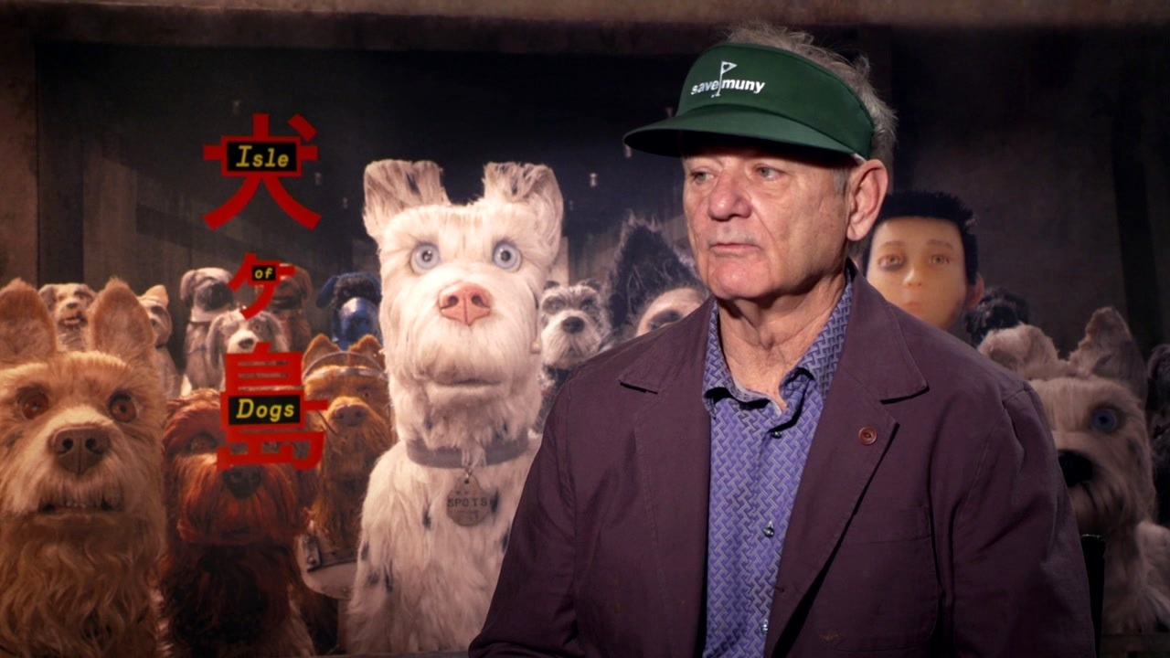 Isle Of Dogs: Bill Murray On The Recording Process