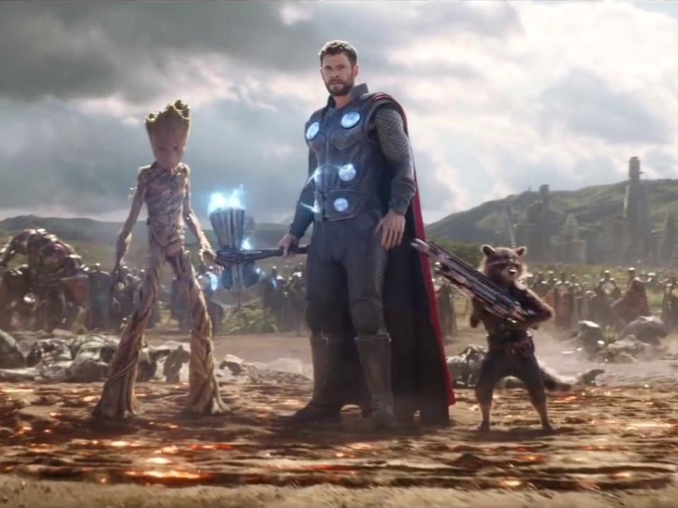 Avengers: Infinity War: Number 1 (TV Spot)