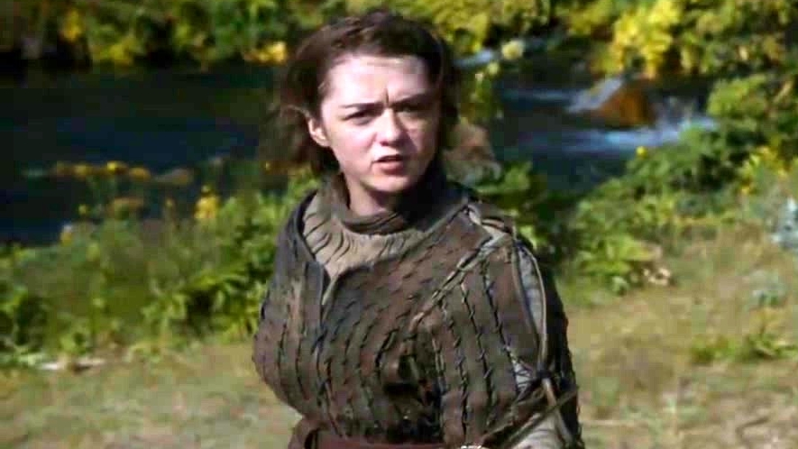 Game of Thrones: The Hound & Arya
