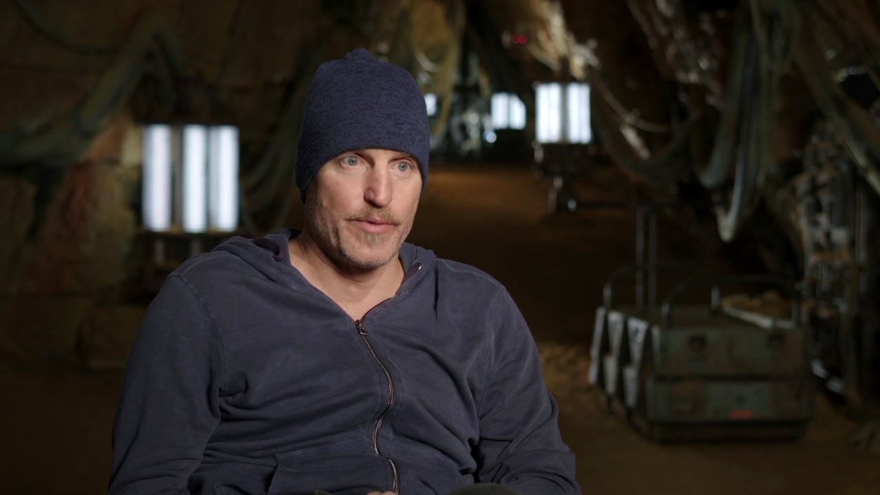 Solo: A Star Wars Story: Woody Harrelson On The Script And The Kasdans