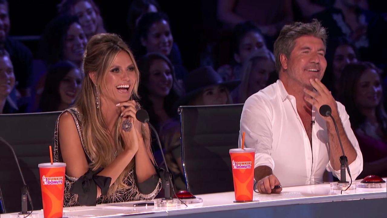 America's Got Talent: Samuel Tells Hilarious Puppy Story