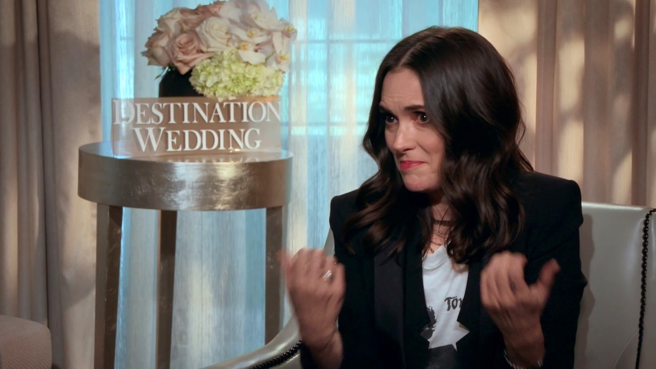 Destination Wedding: Winona Ryder On Her Character