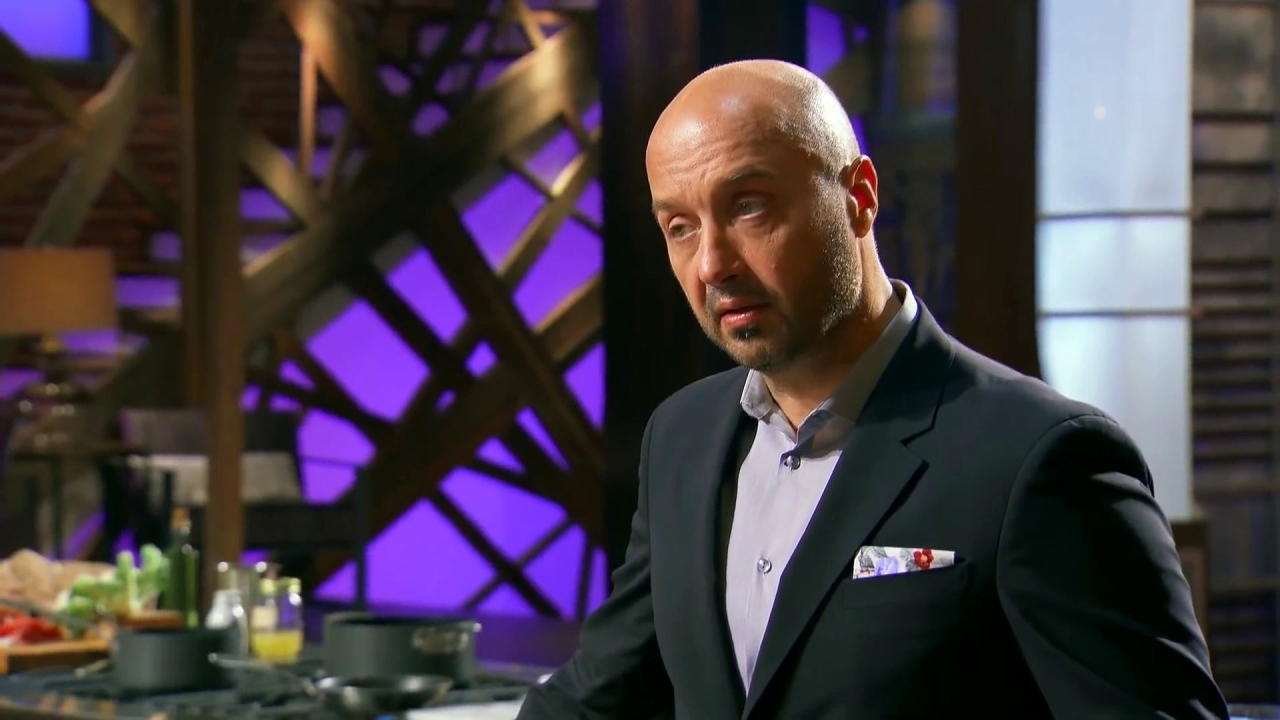 Masterchef: Joe Gives Gerron Some Important Advice