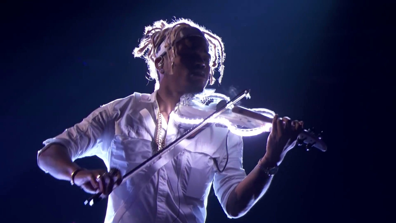 America's Got Talent: Brian King Joseph: Electric Violinist Takes Performance To New Heights