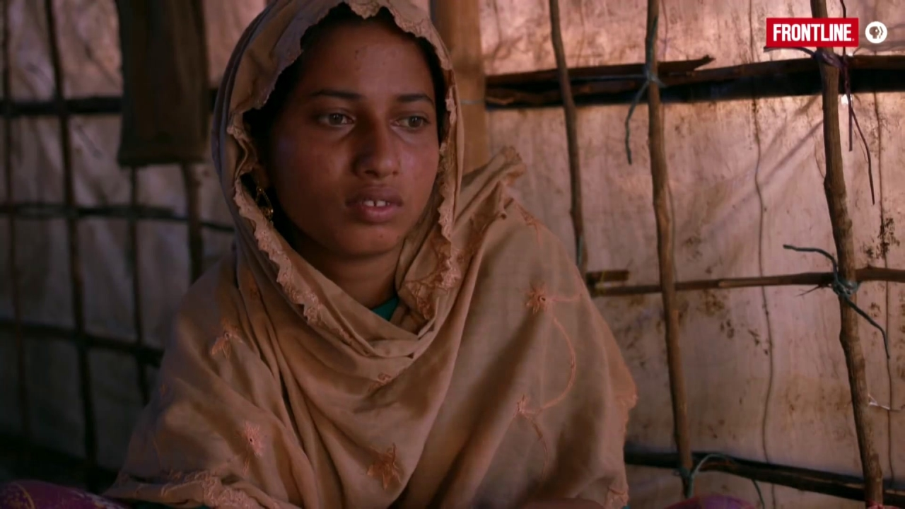 Frontline: Rohingya Survivors Speak Out About Mass Rape