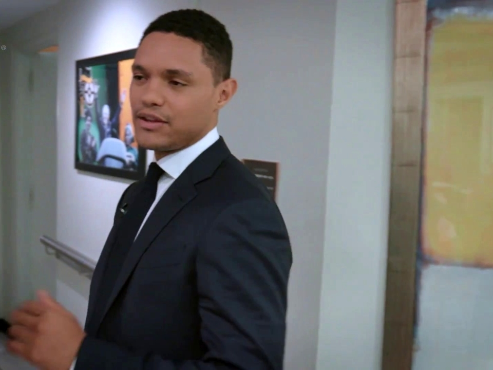 Breaking Big: Trevor Noah Backstage At The Daily Show