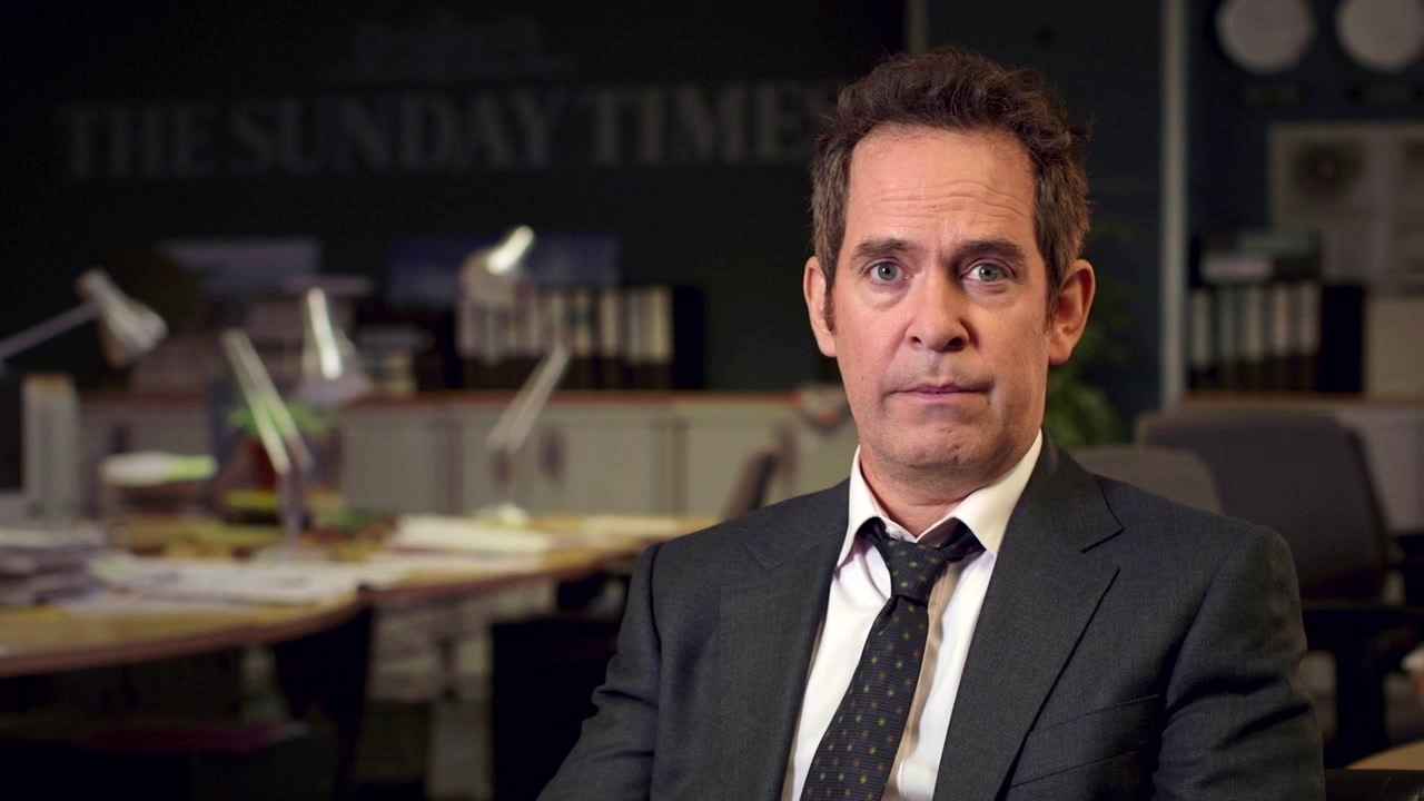 A Private War: Tom Hollander On What The Film Is About
