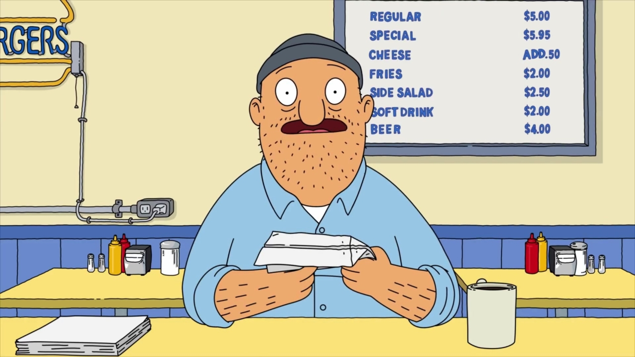 Bob's Burgers: Teddy Tells Bob & Linda About The Paper Airplane Contest