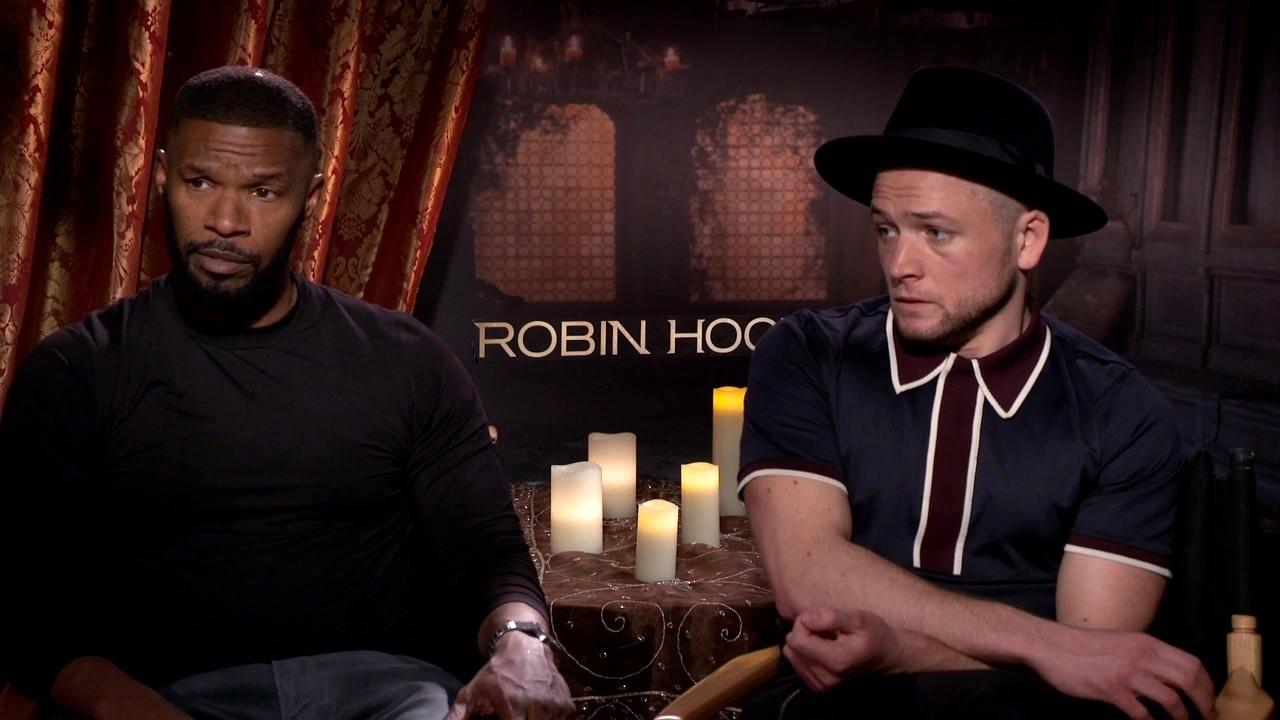 Robin Hood: Jamie Foxx and Taron Egerton On Ben Mendelsohn Playing The Role 'Sheriff'