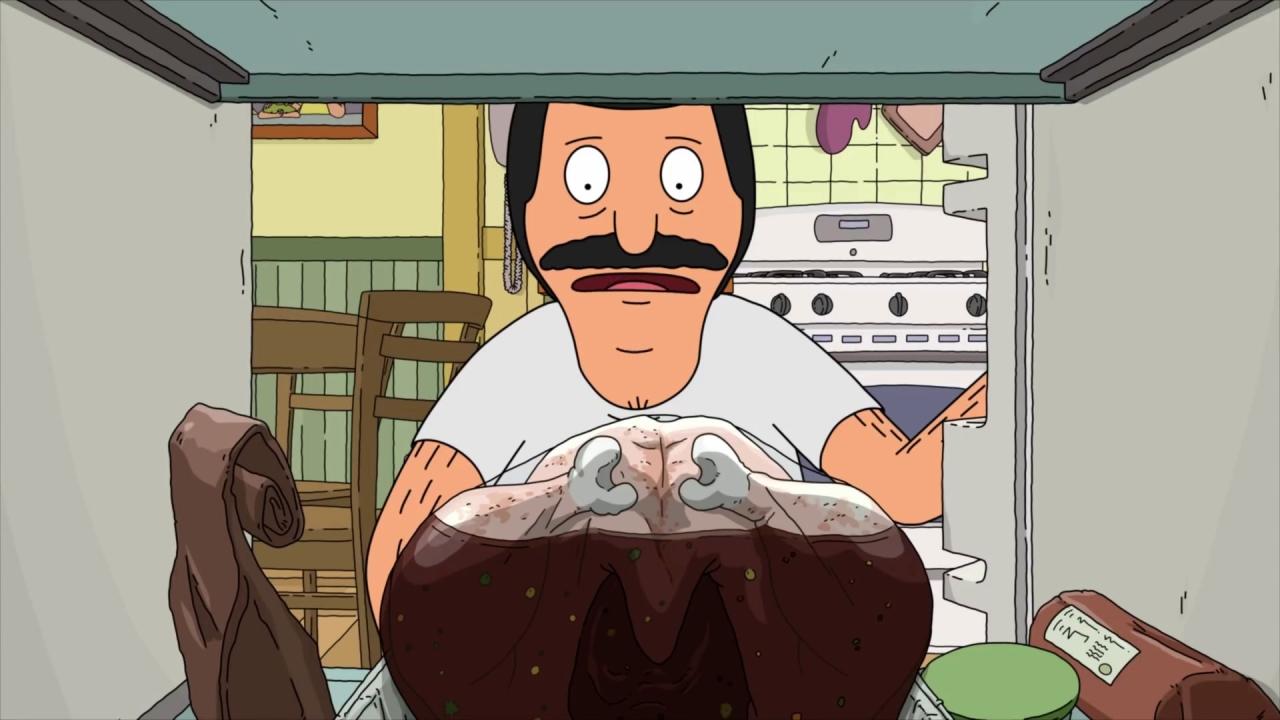 Bob's Burgers: The Belchers Talks About The Turkey Pardoning
