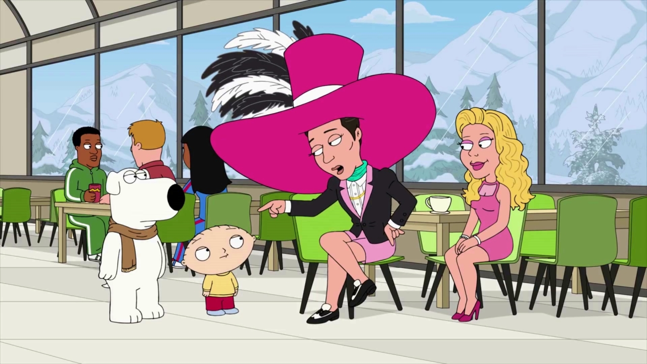 Family Guy: Stewie & Brian Meet Johnny Weir & Tara Lipinski