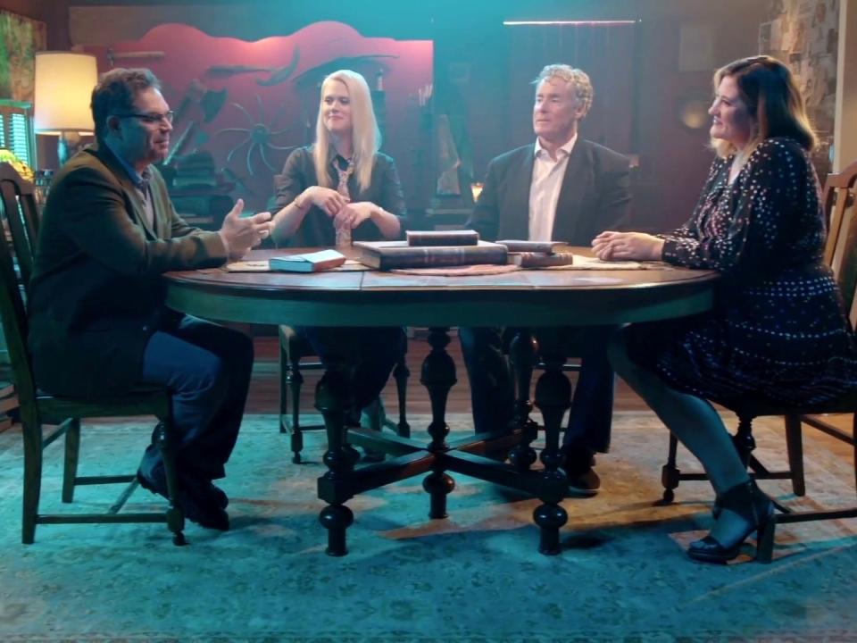 Stan Against Evil: More Evil: Vampire Creek' Episode. 6 BTS Clip
