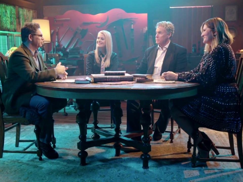 Stan Against Evil: More Evil: The Hex Files' Episode. 2 BTS Clip