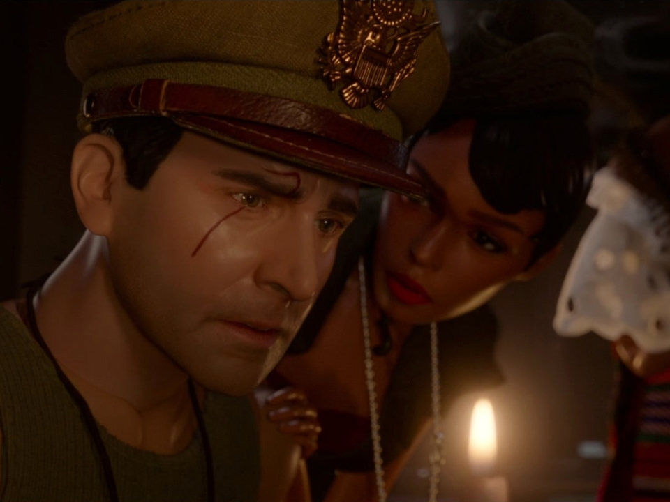 Welcome To Marwen: The Women Of Marwen Tell Hogie They Have His Back